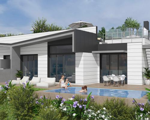 Comenzamos la construcción de 7 villas Adosadas en DONOSTIA